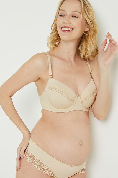 SOUTIEN-GORGE EMBOITANT GROSSESSE CHAMPAGNE