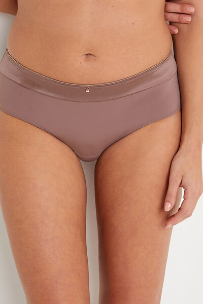 SHORTY MICROFIBRE TAUPE