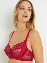 PERCY SOUTIEN-GORGE EMBOITANT ROUGE