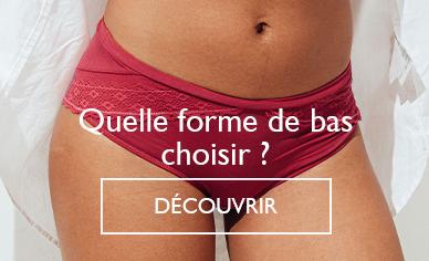Choisir sa forme de culotte