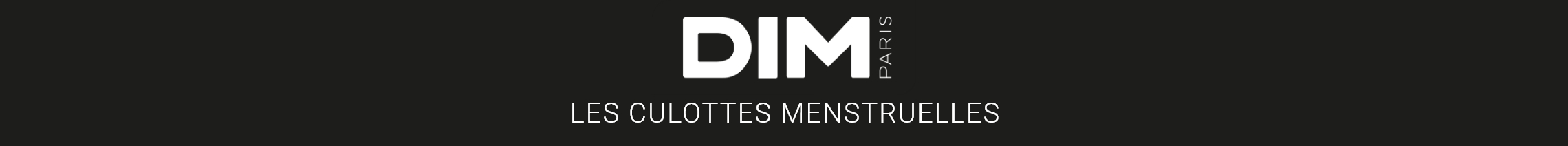 DIM : Les culottes menstruelles